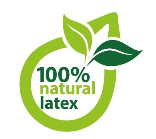 100% naturlatex