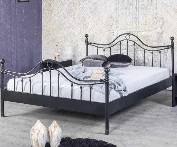 Lorena romantisch metalen bed