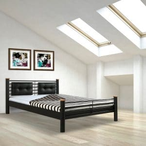 Luna metalen bed